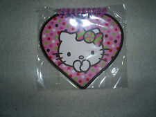 Hello Kitty Heart Shape Note Pad - 40 Sheets