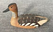 Franklin Mint Koelpin 1982 Miniature Cabinet Figurine Fulvous Whistling Duck