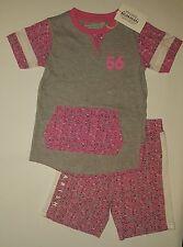 Boys Parish Nations 2-Piece Outfit Shirt & Shorts Set Size 2T