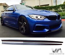 BMW 3 SERIES F32 F33 M PERFORMANCE STYLE SIDE SKIRT EXTENSION BLADES