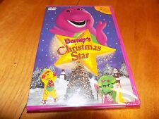 BARNEY'S CHRISTMAS STAR Barney the Dinosaur Children's TV Show Classic DVD NEW