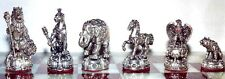 "Tigrani ""Animal Kingdom"" Sterling Silver Chess set"