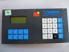 Gercom 8 FQ-24, Electrolux Lalesse Bedienpult, Größe ca. 250mm x 130mm