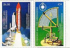 ST.VINCENT 1993 SPACE / COPERNICUS SC#1888-89 MNH CV$5.60 ASTRONOMY