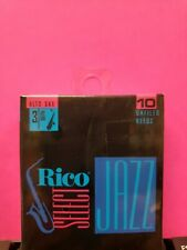 Rico Select Jazz Soprano Saxophone Sax Reeds, Strength 3 Hard 10  Unfiled NEW