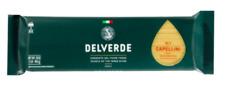 Del Verde Italian pasta Capellini - 12 bags x 1 Lb