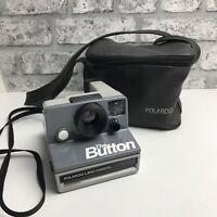 POLAROID The Button SX-70 Vintage Instant Print Film Retro Land Camera With Case