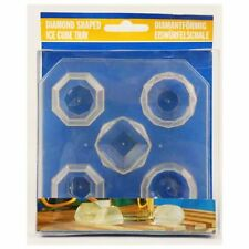 Diamon Diamond Shaped Ice Cube Tray Make Mould Sphere shape party drink
