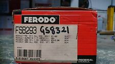 Ferodo Brake shoes FSB293. Fit Peugeot 309, Renault Super5, 6, 9, 11.