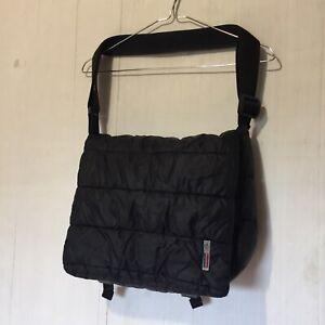 RARE Vintage Moncler Nylon Puffer Messenger Bag Unisex