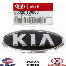 Front Bumper Emblem Mark Logo -Kia- Genuine! Kia Rio Sedan 2012-2015 863201W000 (Fits: Kia)