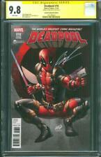 Deadpool 18 CGC SS 9.8 Rob Liefeld Signed 2016 Celebrity Variant X Force Movie