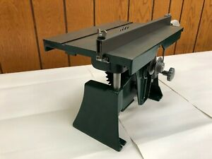 """Vintage 8"""" Table Saw Green Montgomery Ward"""