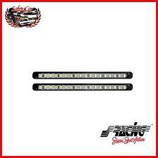 Kit 2 Luci Diurne a 18 Led ad Alta Potenza Simoni Racing Stark DL/23W Spessore 4