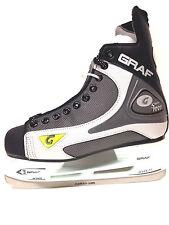 GRAF 1001 / 101 Eishockey Schlittschuhe Gr. 47 schwarz