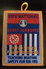 2013 Boy Scout Jamboree US Power Squadron Patch
