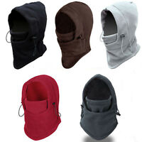 Unisex Winter Thermal Fleece Balaclava Neck Ski Full Face Mask Cap Cover Warm