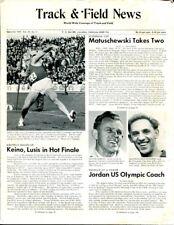 1967 Track & Field News September Janis Lusis Manfred Matuschewski 37636