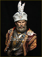 Young Miniatures Polish Hussar Nobleman 1/10th YH1849 Bust Unpainted kit
