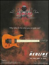 The Godin Redline 3 Series electric guitar ad 8 x 11 advertisement print