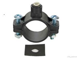 """1/4"""" Push Fit Waste Water Clamp Valve for RO Reverse Osmosis Unit Filter Filters"""