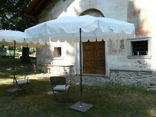 Maffei Sonnenschirm Pol zentral ALLEGRO Art.85 Weiß POLYMA Polyester d.280 cm