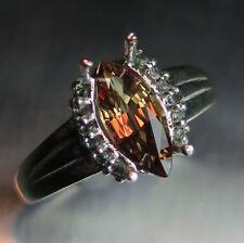 Marquise Engagement Not Enhanced Fine Gemstone Rings
