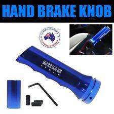 NEW Car Hand Brake Handle (Handbrake Grip + Button) Blue