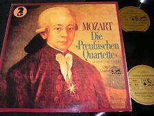 SUSKE-QUARTETT Mozart - Die Preußischen Quartette / 70s German LP EURODISC 63032