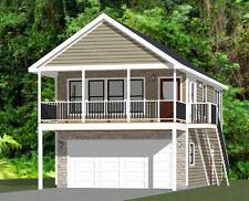 20x32 House - 2 Bedroom - 808 sqft - Pdf FloorPlan - Model 6R