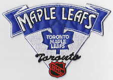 "TORONTO MAPLE LEAFS NHL HOCKEY 4"" BANNER STYLE TEAM LOGO PATCH"