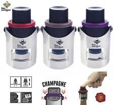 CHAMPAGNE PRESSURE STOPPER Sparkling Wine Patented Saver Pump Bottle Sealer Bung