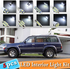 5-pc White LED Interior Light Bulb Package Kit Fit 1993-1997 Toyota Land Cruiser