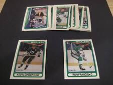 1990/91 O-Pee-Chee OPC Hartford Whalers Team Set