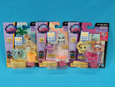 3x Littlest Pet Shop Pets in the City Walmart Exclusive 2-Packs 6 Total Figures