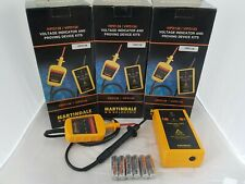 3 x Martindale VIPD138 Voltage Indicator and Proving Unit Kit With Case