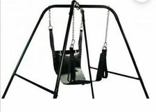 REAL THICK LEATHER ADULT SEX SLING/SWING GAY STRAIGHT BONDAGE  (FREE P&P)UK