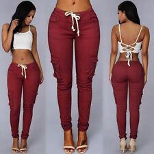 Womens Casual Sweatpants Jogger Dance Harem Hip Hop Pants Sports Baggy Trousers