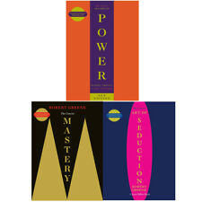 The Robert Greene Collection 3 Books Set (Concise 48 Laws Of Power, Mastery) NEW