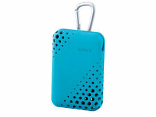 Sony LCS-THU / L Soft carrying case for Cyber-shot / Easy to clean & Dry - Blue