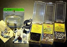 Old Radio Repair Parts: Fuses, Knobs General Cement Dial Cords & Machine Screws