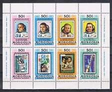 Mongolia postfris 1981 MNH vel/sheet 1444-1451 - Ruimtevaarders (X786)