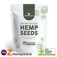 Hemp Seeds Hulled Australian Certified Organic Vegan Food 250g,500g,1kg,2kg,4kg