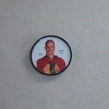 Shirriff / Salada coins Hockey 1960-61 # 63 Bobby Hull Chicago Black Hawks  #A