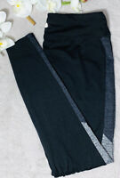 TANGERINE Womens Leggings Pants Black Heather Gray Serene Active Size S