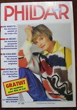 PHILDAR Mailles - n°123 (1985) 35 Modèles HIVER