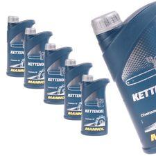 5 Liter MANNOL Ketten Öl Motoröl mineralisches Kettenöl Kettenhaftöl Motorsäge