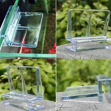 Durable Plastic Clear Clips Glass Cover Support Holders for Aquarium Fish Gift