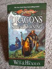 DRAGONLANCE CHRONICLES Book II Dragons of Spring Dawning Part 2 DDP TPB NM