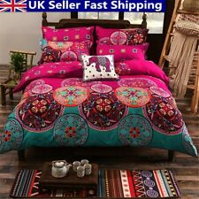 Bohemian Mandala Duvet Cover Pillow Case Flat Sheet Quilt Cover Beddin